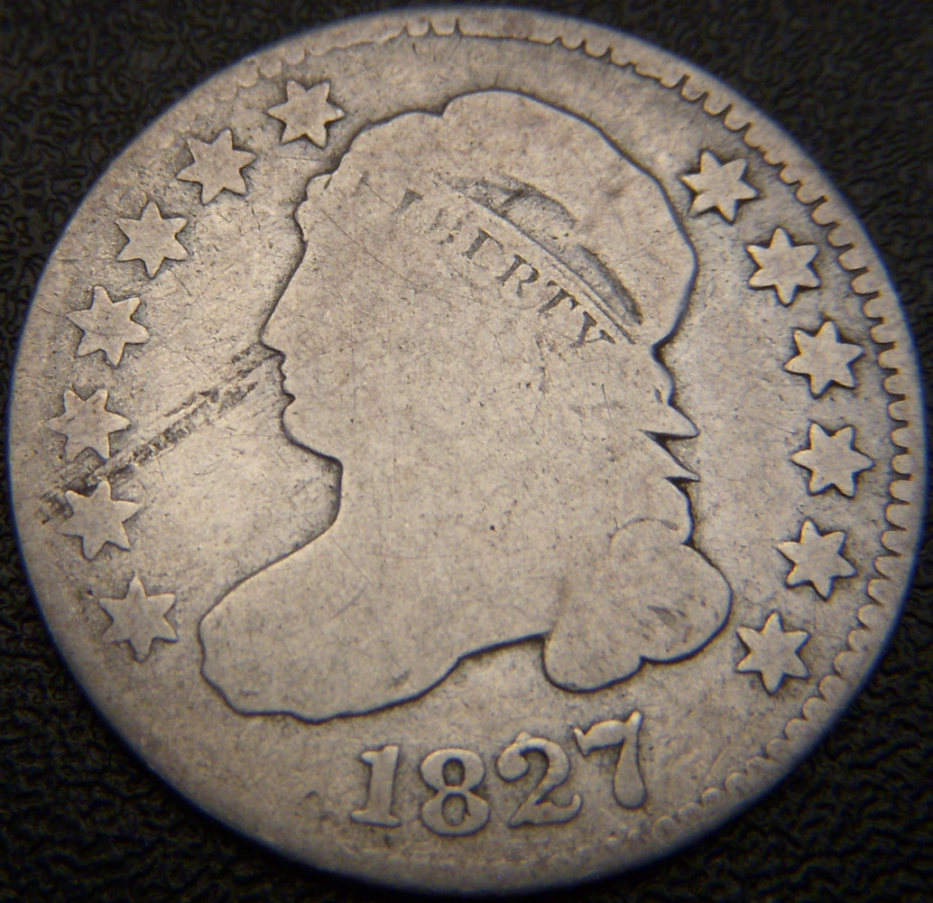 1827 Bust Dime - Very Good