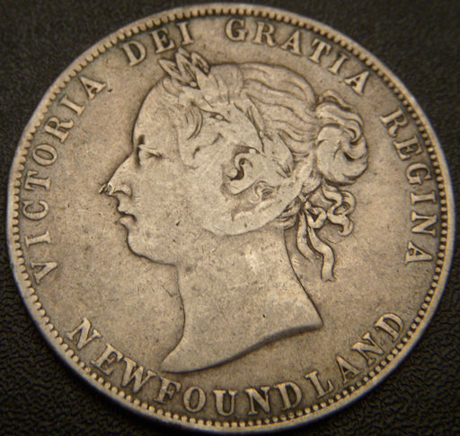 1896 New Foundland Half Dollar