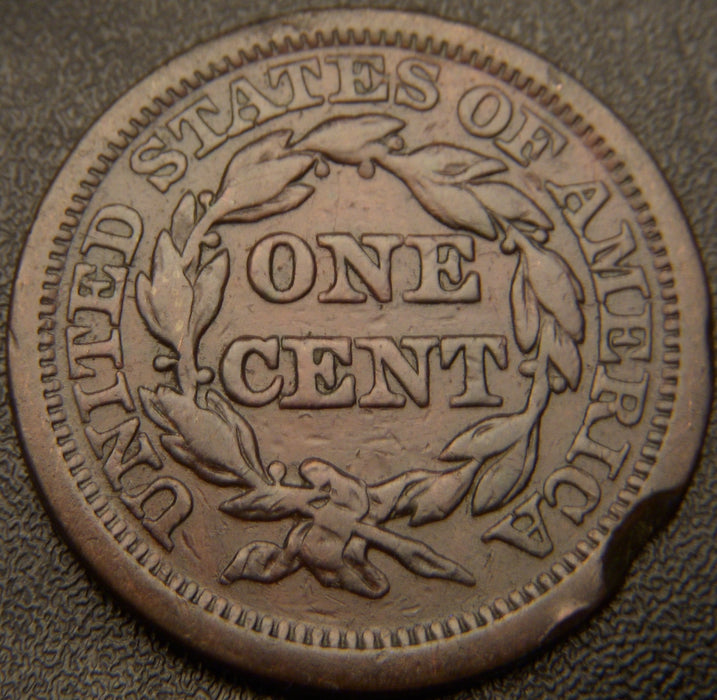 1844 Large Cent - Very Good