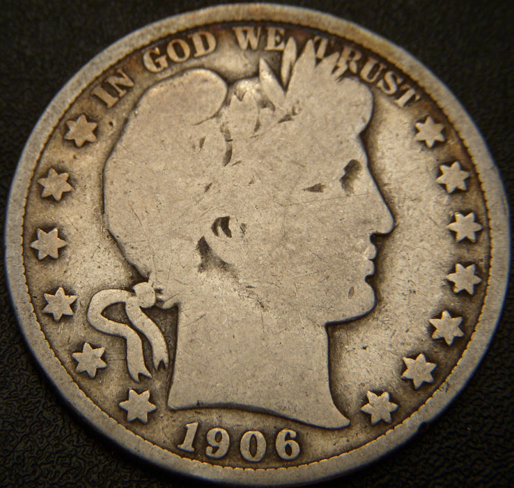 1906 Barber Half Dollar - Good