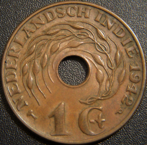 1942 Cent - Netherlands East Indies