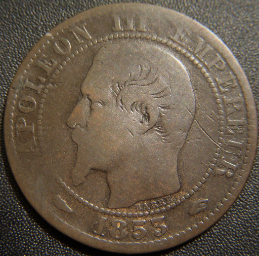 1853A 5 Centimes - France