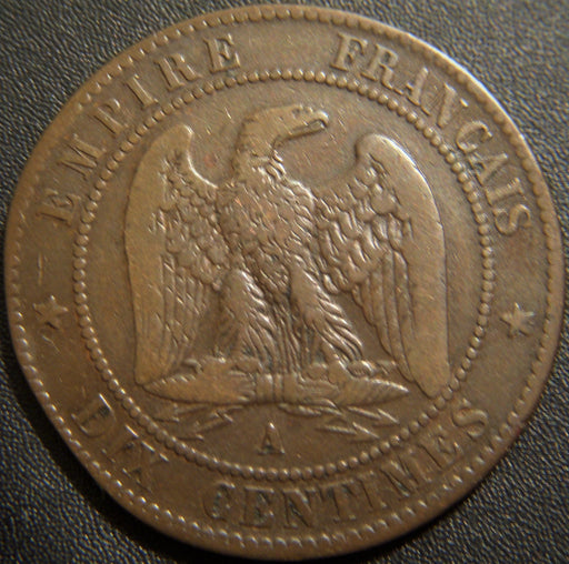 1854A 10 Centimes - France