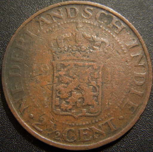 1915 2 1/2 Cents - Netherlands East Indies