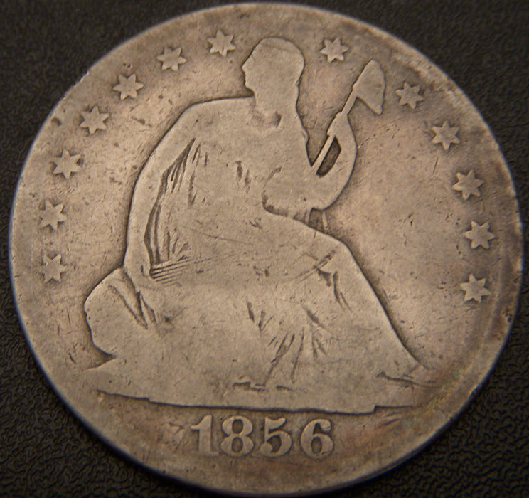 1856-O Seated Half Dollar - G