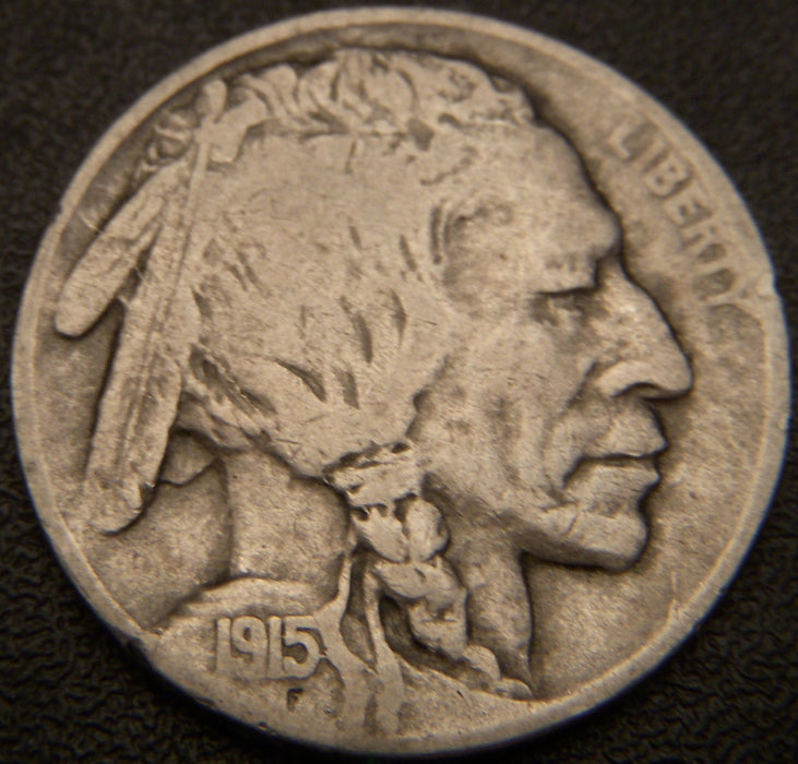 1915-D Buffalo Nickel - Fine