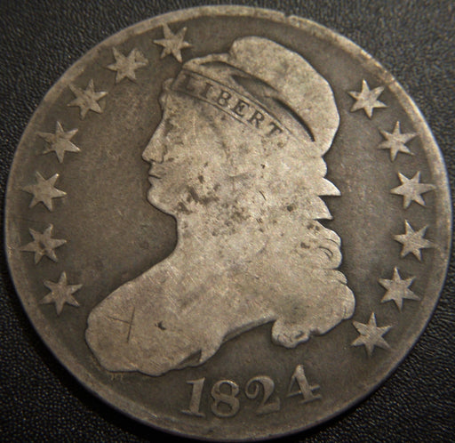1824 Bust Half Dollar - Good
