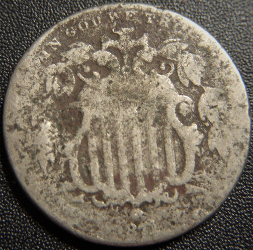 1857 Silver Three Cent - Fine