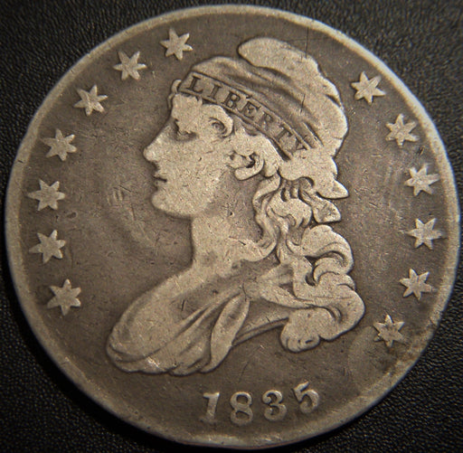 1835 Bust Half Dollar - Very Good