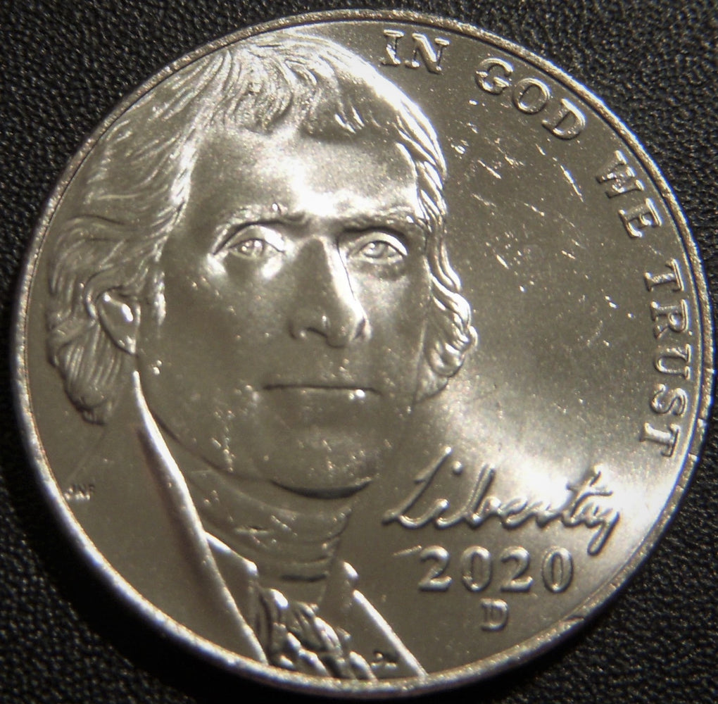 2020-D Jefferson Nickel - Uncirculated