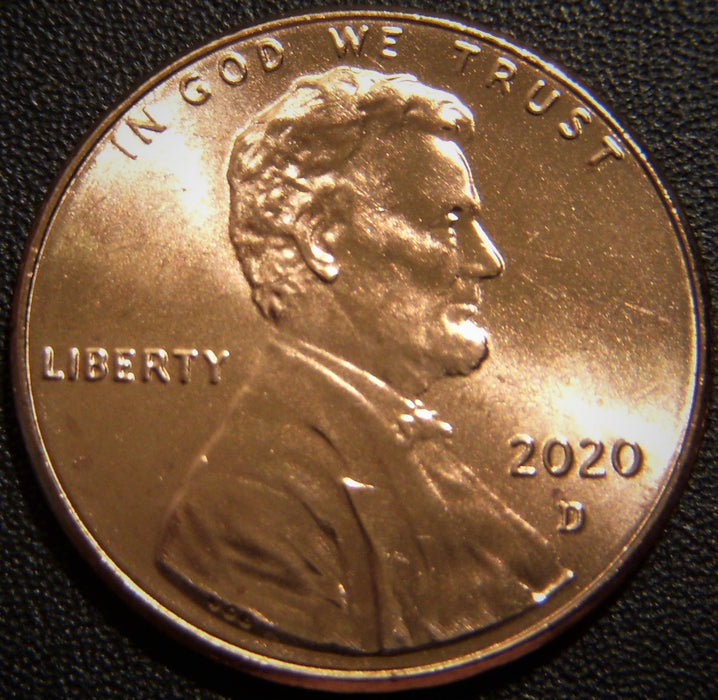 2020-D Lincoln Cent - Uncirculated