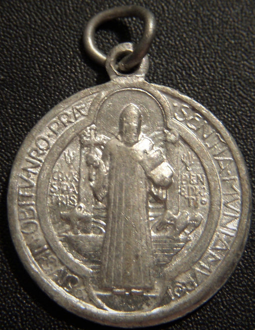 Saint Benedict - Hour of Our Death Pendant