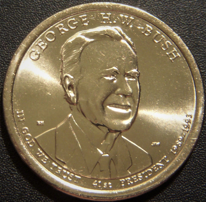 2020-D George H.W. Bush Dollar - Uncirculated