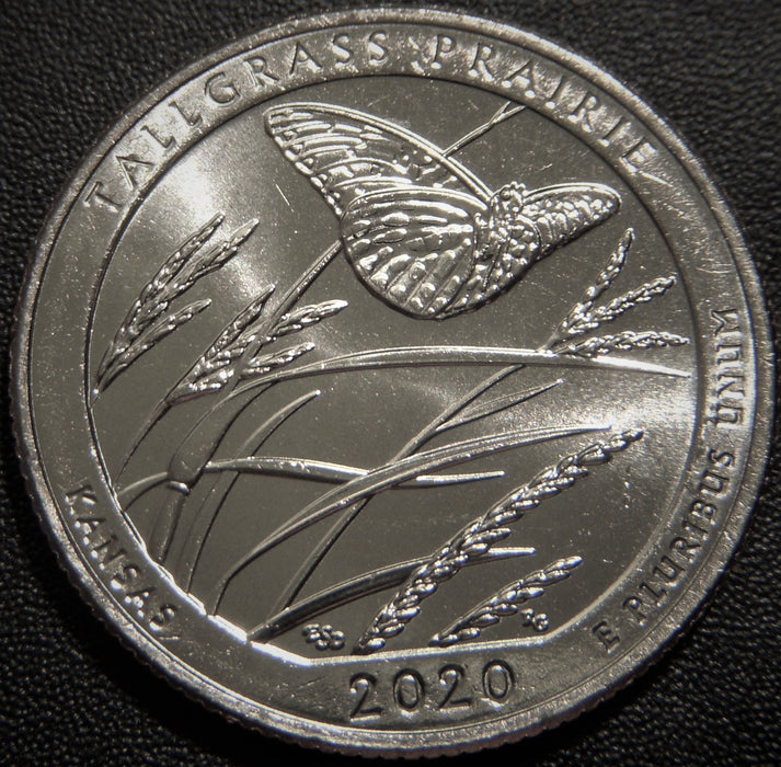2020-P Tallgrass Prairie Park Quarter - Uncirculated