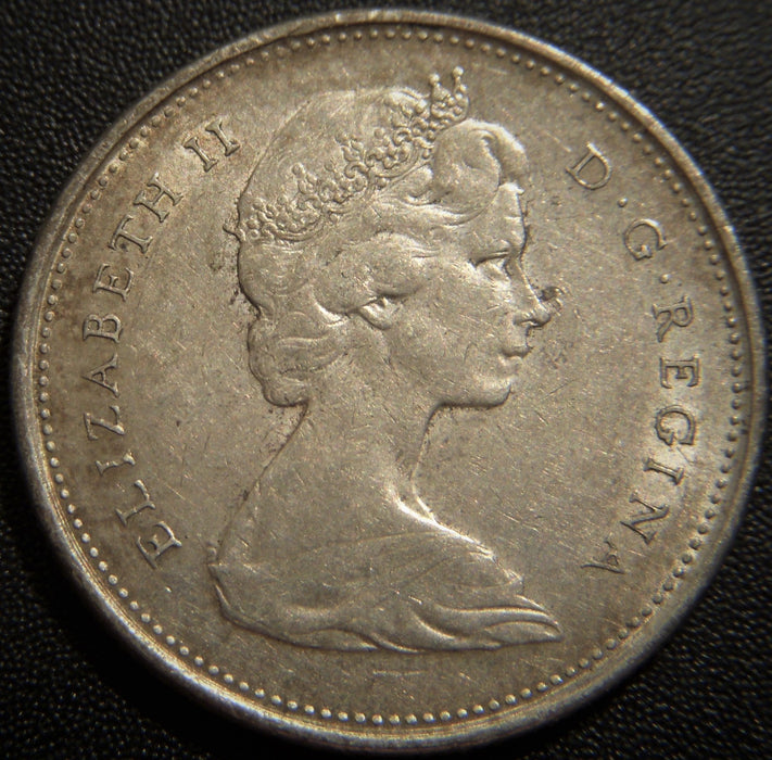 1968 Canadian Quarter - Silver VG to EF