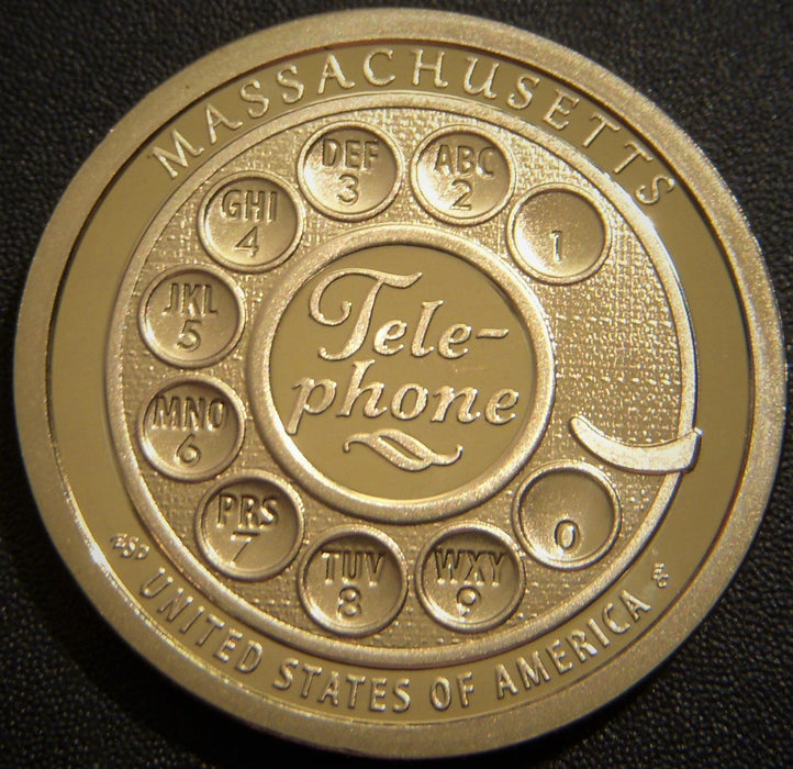 2020-S Innovators Massachusetts Dollar  - Proof