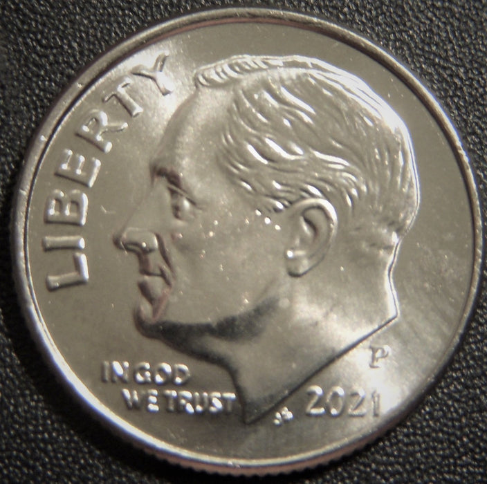 2021-P Roosevelt Dime - Uncirculated