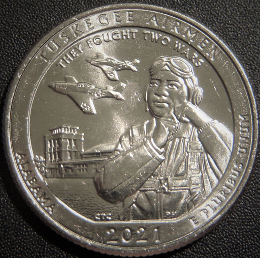 2021-P Tuskegee Airmen Quarter - Uncirculated