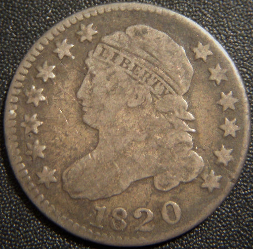 1820 Bust Dime - Small O Fine