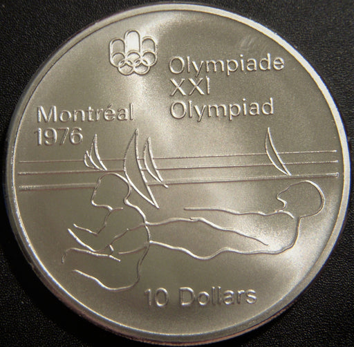 1975 $10 Olympic Sailing Canada - Uncirculated