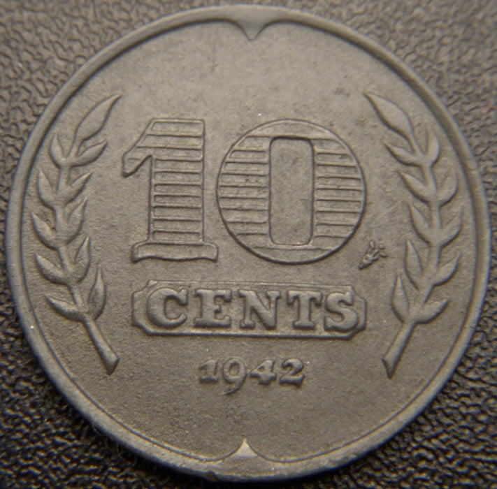 1942 10 Cents - Netherlands