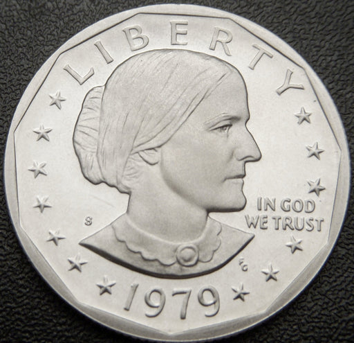 1979-S Susan B. Anthony Dollar - T2 Proof Clear S
