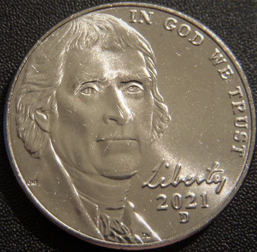 2021-D Jefferson Nickel - Uncirculated