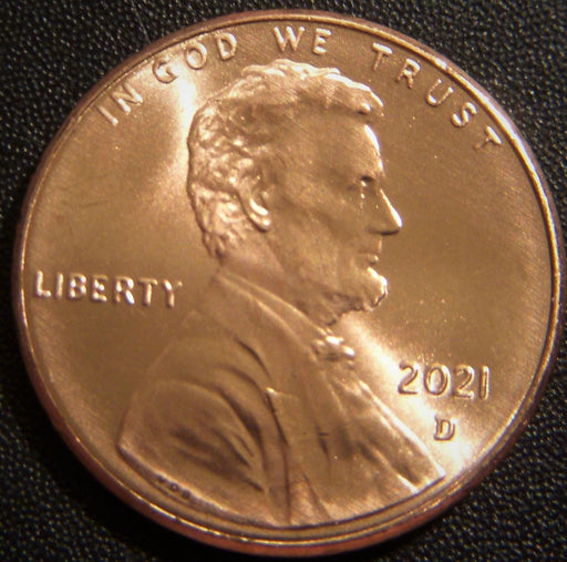 2021-D Lincoln Cent - Uncirculated