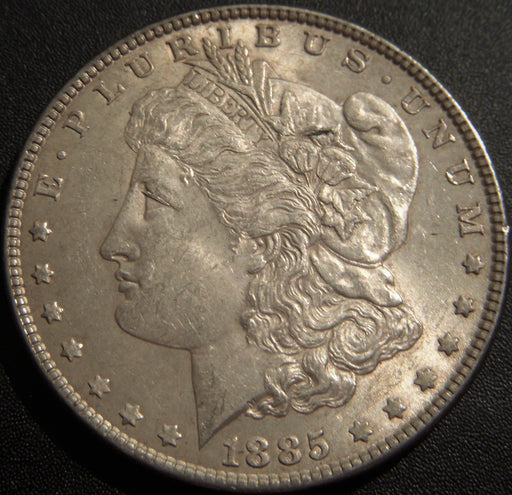 1885 Morgan Dollar - AU+