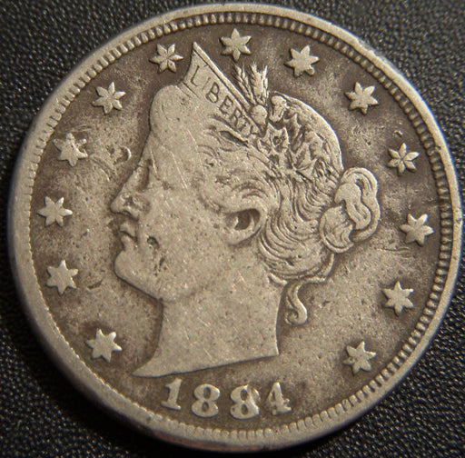 1884 Liberty Nickel - VF Details