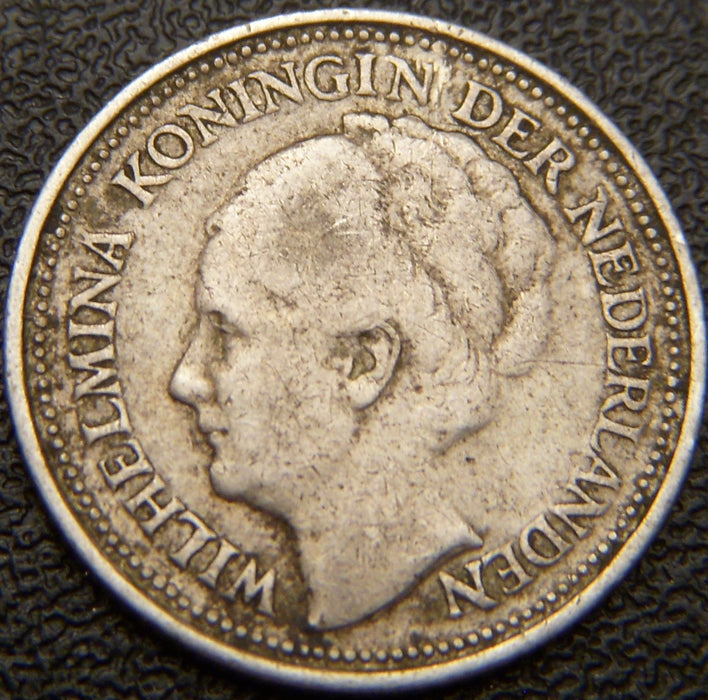 1934 10 Cents - Netherlands