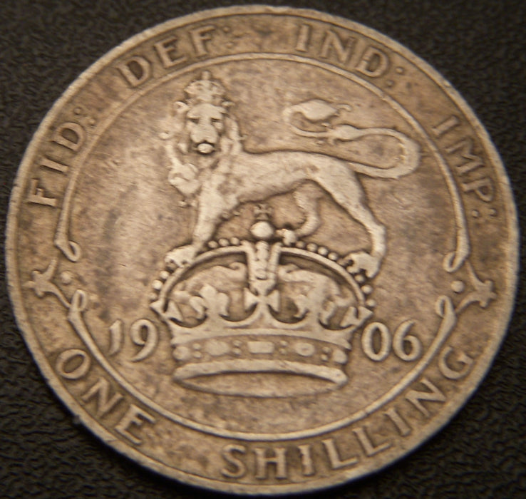 1906 Shilling - Great Britain