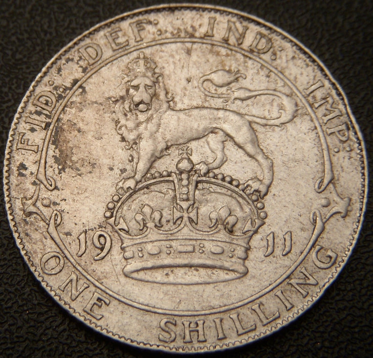 1911 Shilling - Great Britain