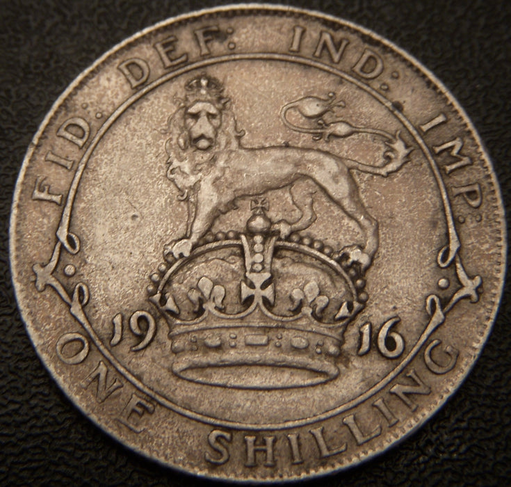 1916 Shilling - Great Britain