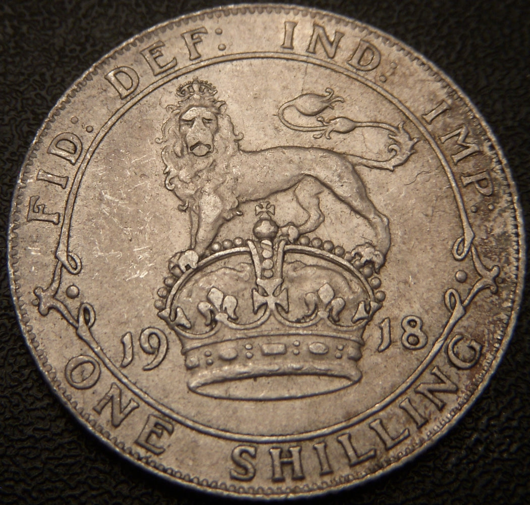 1918 Shilling - Great Britain