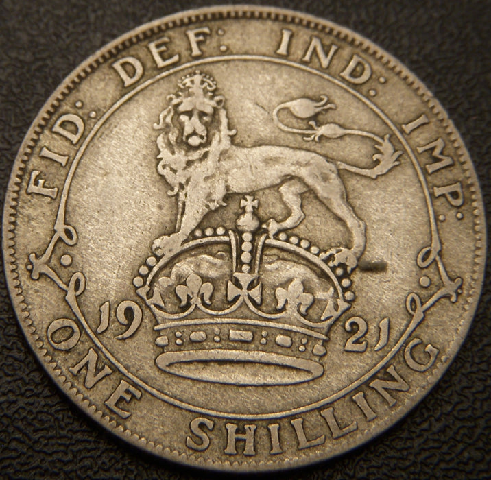 1921 Shilling - Great Britain