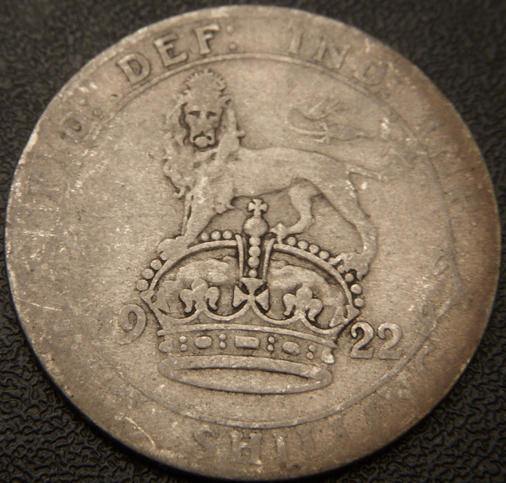 1922 Shilling - Great Britain