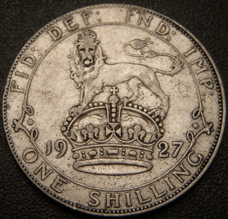 1927 Shilling - Great Britain