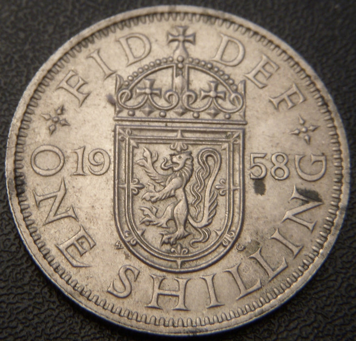 1958 Shilling - Great Britain