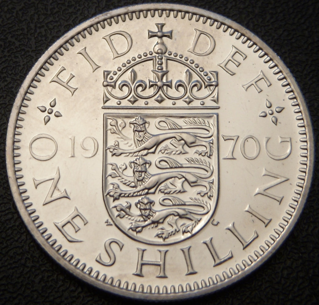 1970 Shilling - Great Britain
