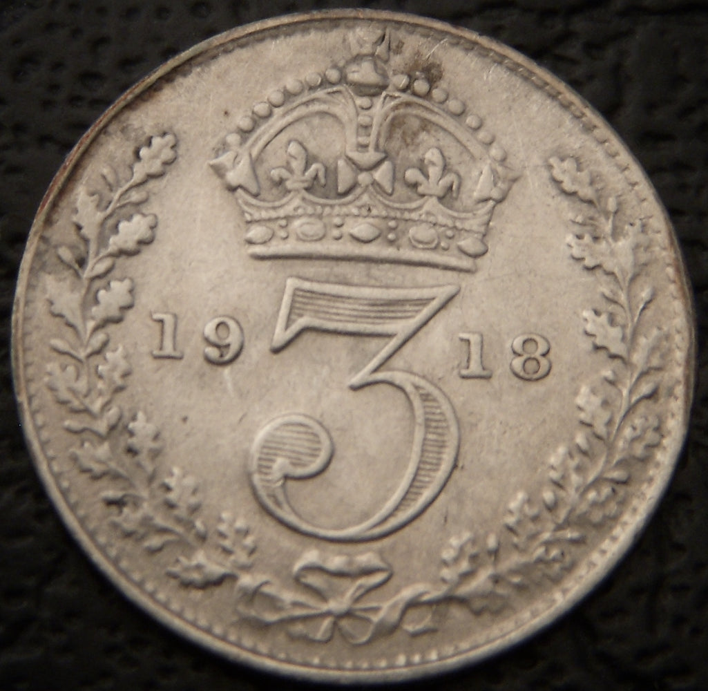 1918 3 Pence - Great Britain