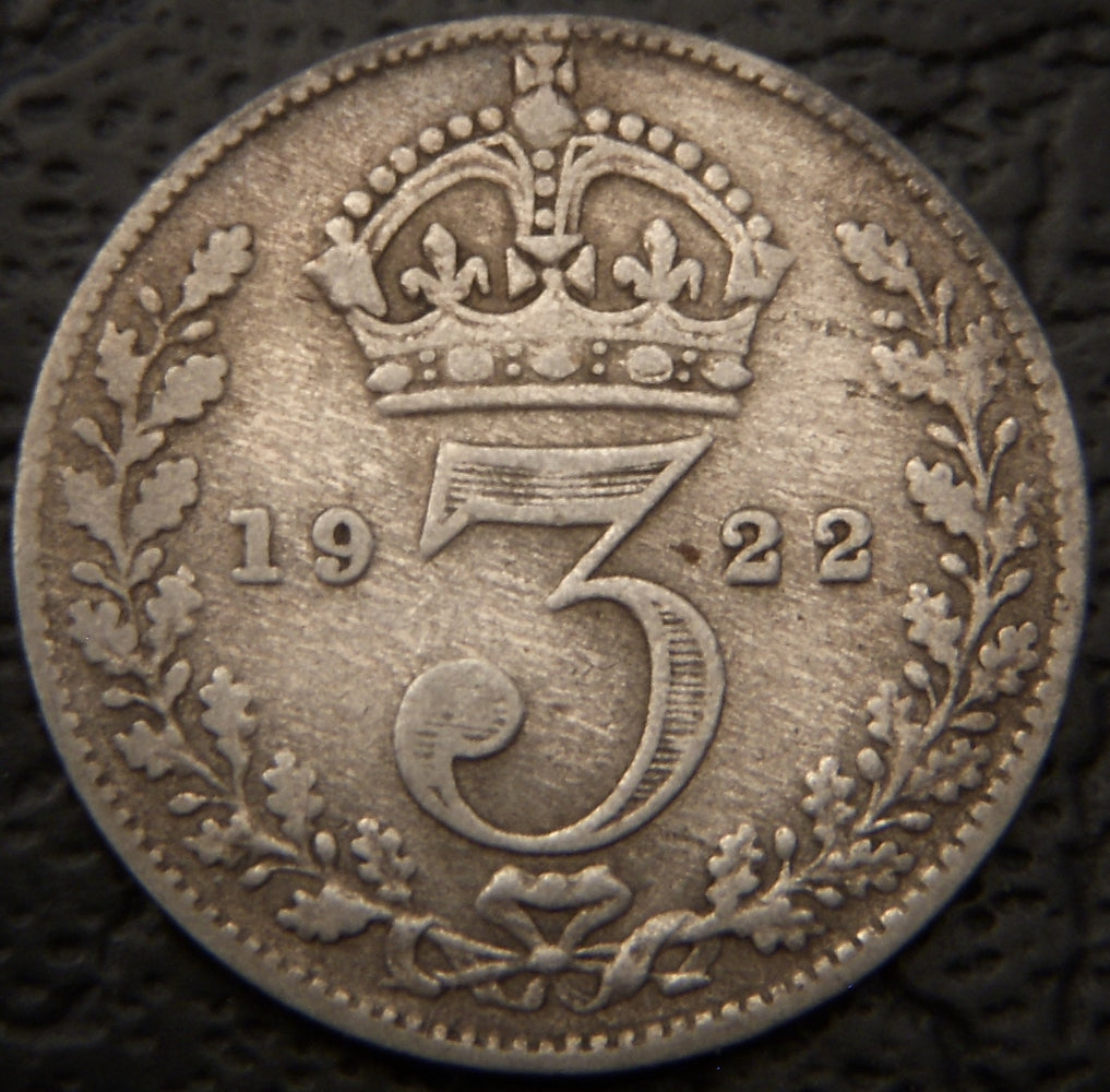1922 3 Pence - Great Britain