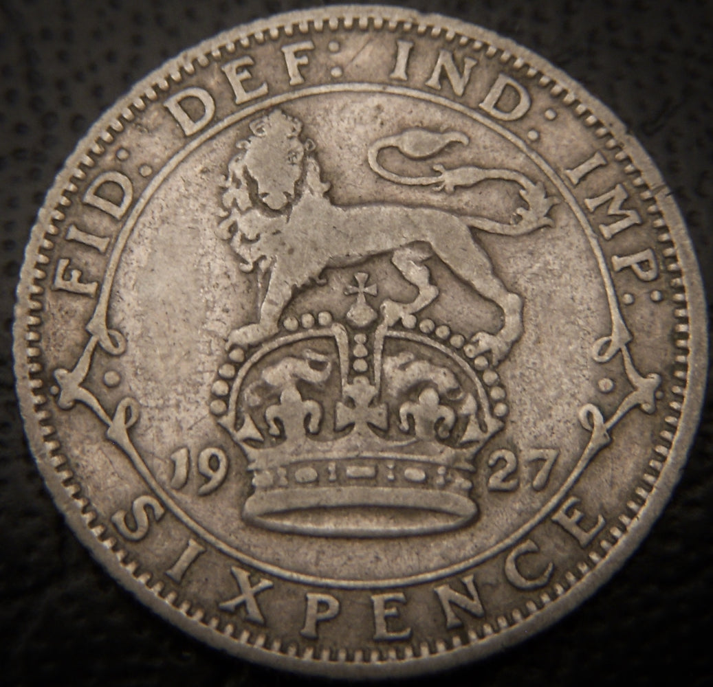 1927 6 Pence - Great Britain