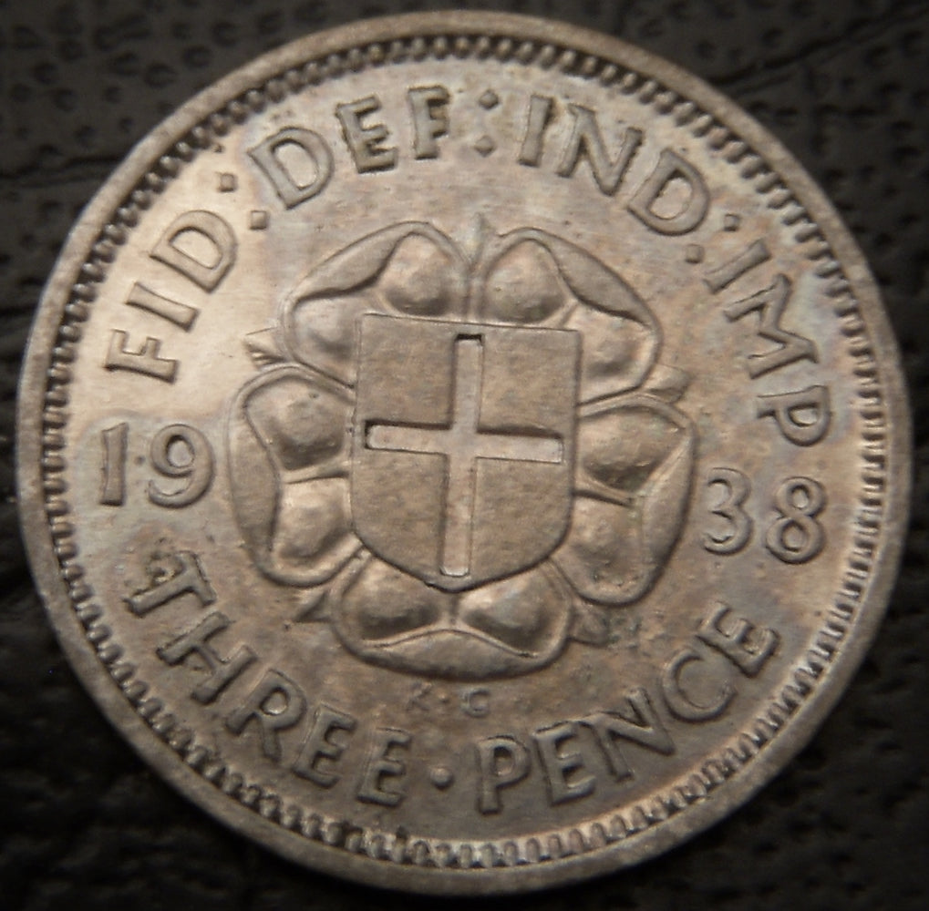 1938 3 Pence - Great Britain