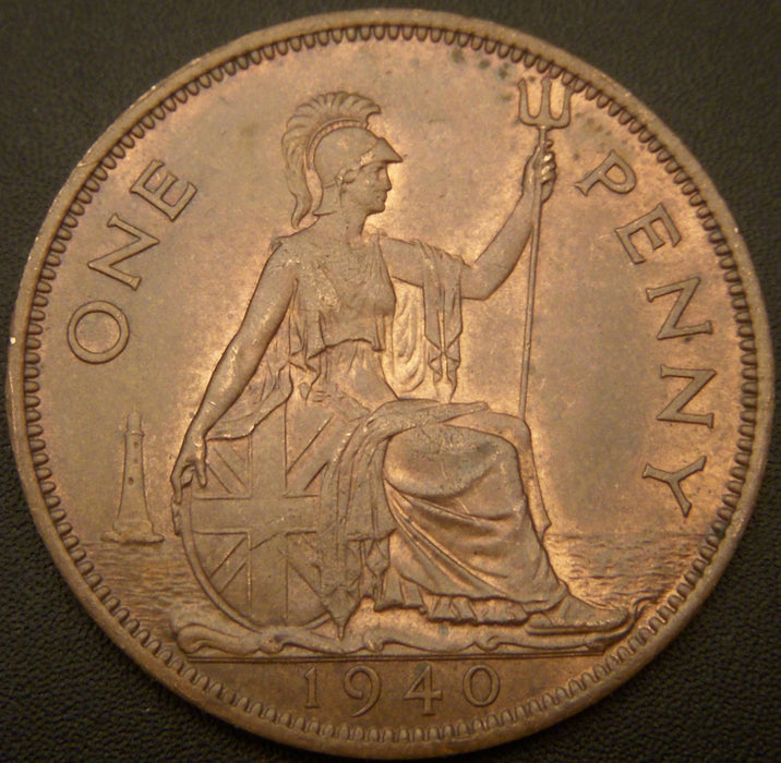 1940 1 Penny - Great Britain