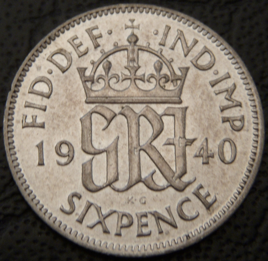 1940 6 Pence - Great Britain