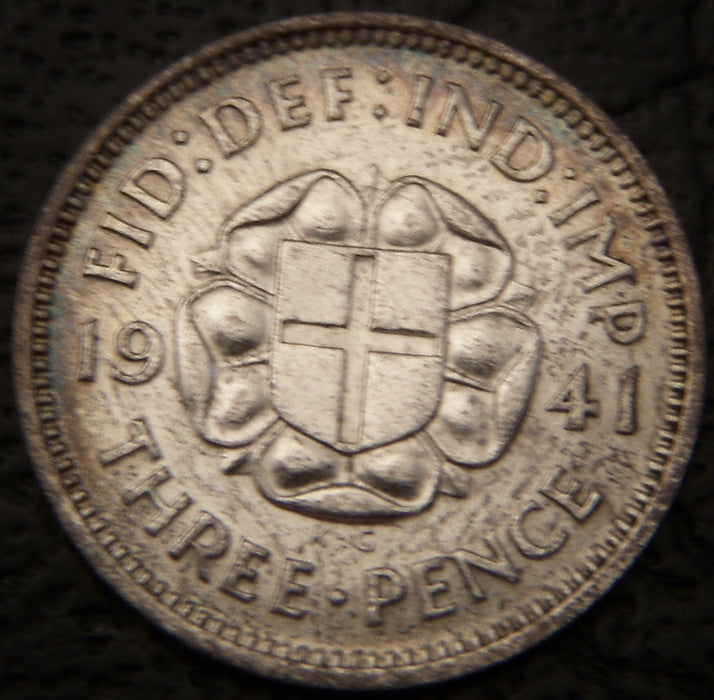 1941 3 Pence - Great Britain