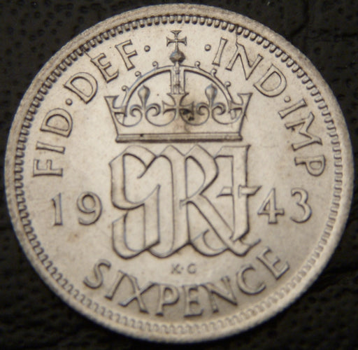 1943 6 Pence - Great Britain