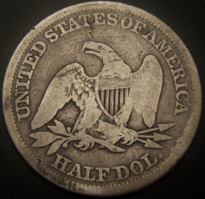 1859 Seated Half Dollar - Good