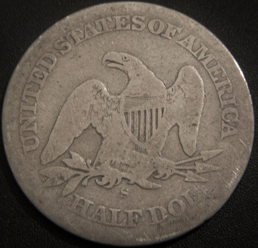 1863-S Seated Half Dollar - Good